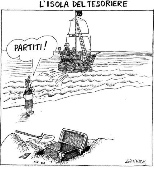 Solo un naufragio ci salverà